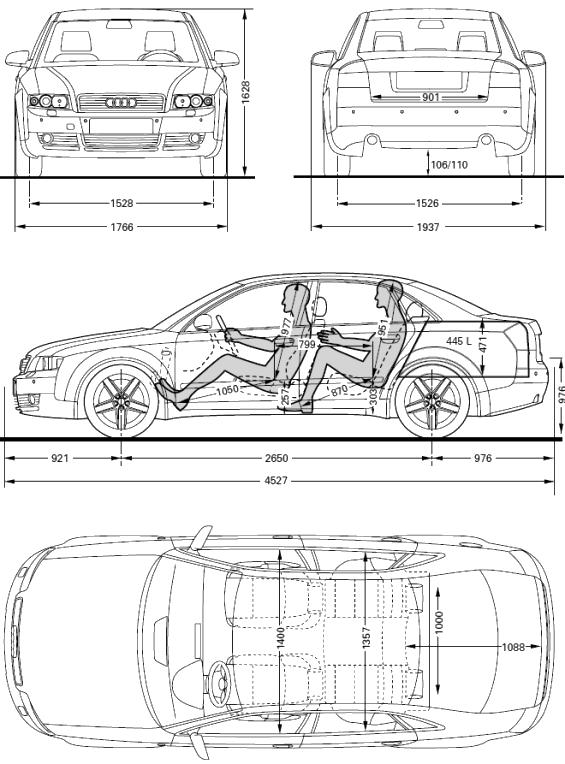 Audi A4 B6 2000 2004 Dane Techniczne I Eksploatacyjne