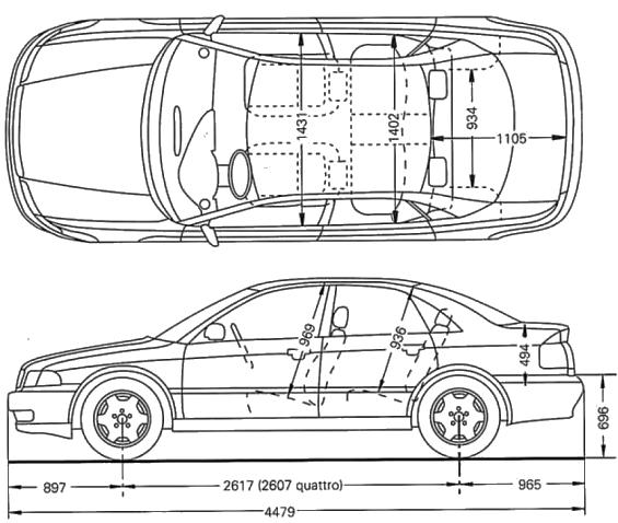 Audi A4 B5 Wwwvwgolfpl Portal Miłośników Aut Grupy Vag